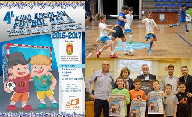 Últimos días para incribirse en la IV Liga Escolar de Fútbol Sala de Talavera