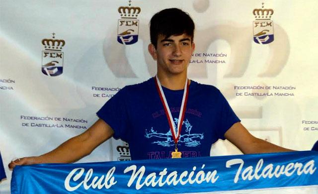 El nadador del CN Talavera convocado para el Campeonato de España