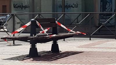 TALAVERA | El Ayuntamiento recuerda que no se deben utilizar los bancos y resto de mobiliario urbano