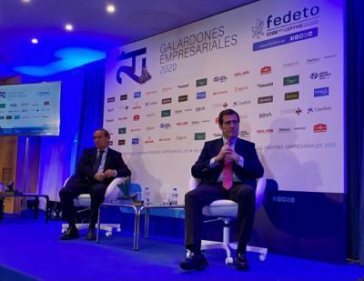 PREMIOS FEDETO | Garamendi, sobre la posibilidad de hacer ERTEs en la administración pública: 'Sería algo de echarle una ojeada'