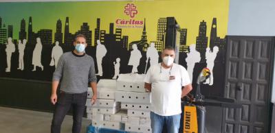 SOLIDARIDAD   Cárnicas Dibe dona 247 kilos de alimentos a Cruz Roja Talavera