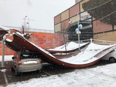 FOTOS Y VÍDEO   'Filomena' sigue causando estragos en Toledo