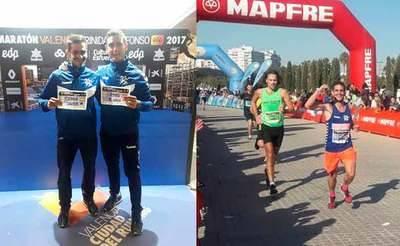 Brillante actuación de los representantes del CD Ebora Runners en el Maratón de Valencia