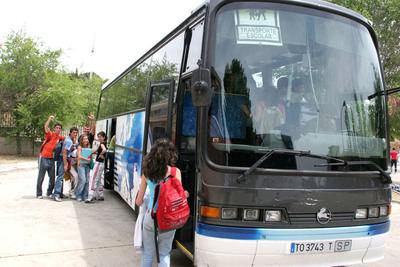 La provincia de Toledo contará con 362 rutas de transporte escolar para 10.000 alumnos