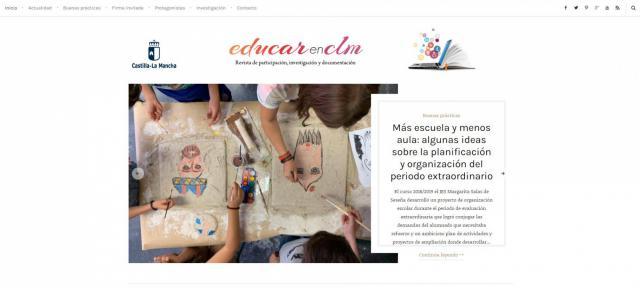 CLM   Vuelve la revista digital educativa 'EducarenCLM'