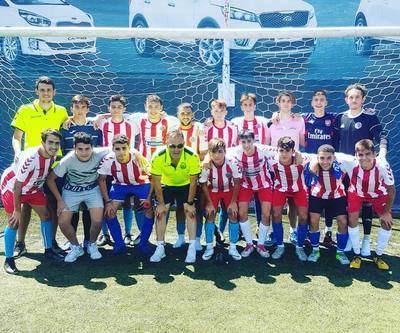 El CF Élite Talavera Juvenil sufre su primera derrota frente al Canillas de División de Honor