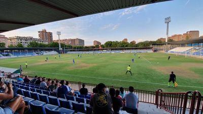 El CF Talavera pierde en su estreno en casa frente al Getafe B