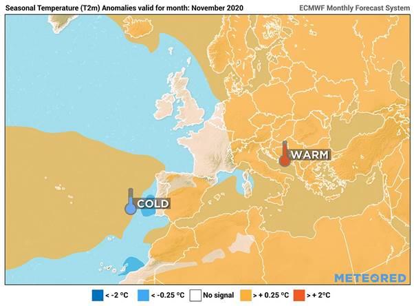 EL TIEMPO | Pronóstico para el mes de noviembre