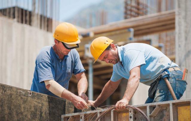 Los accidentes laborales en construcción crecen más que el empleo en el sector