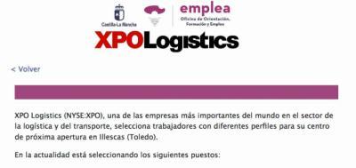 Enlace | XPO Logistics busca empleados para su centro de Illescas