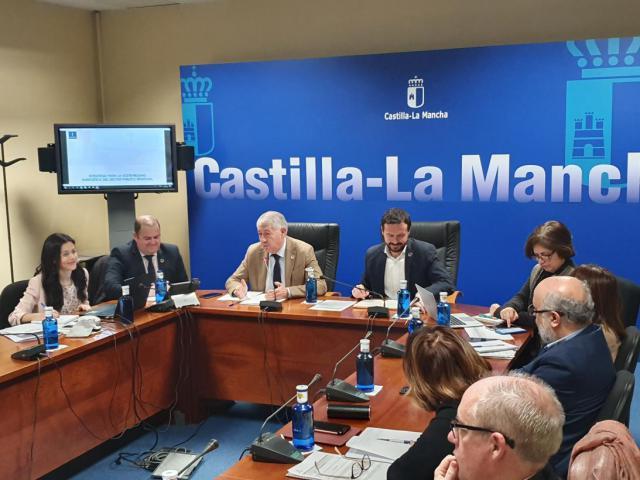 Presidida por el consejero de Desarrollo Sostenible, José Luis Escudero.