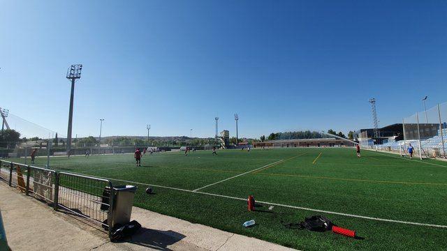 Entrenamiento del CF Talavera / Foto: CF Talavera