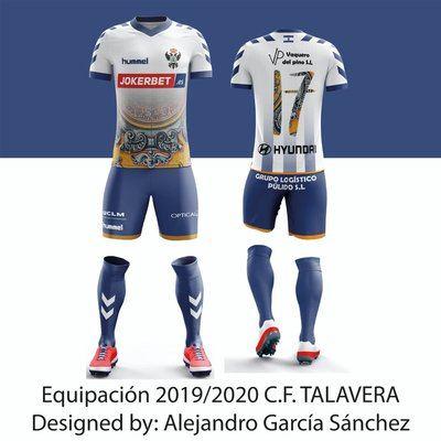 Las redes difunden una llamativa propuesta de equipación para el CF Talavera