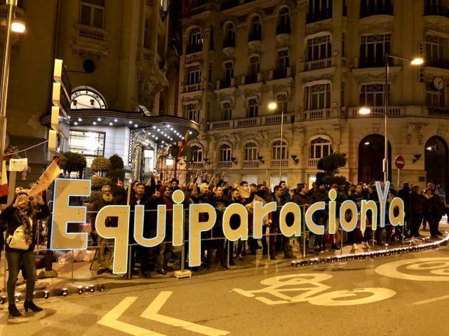 El Congreso aprueba la equiparación salarial de los cuerpos policiales