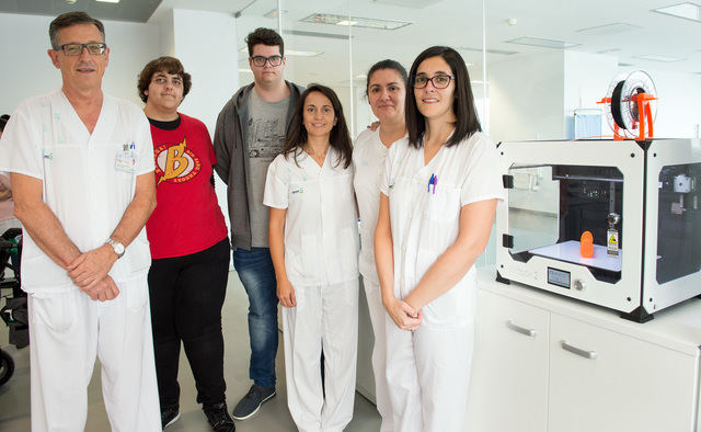 El Hospital de Parapléjicos se suma a la impresión en 3D al servicio de los pacientes