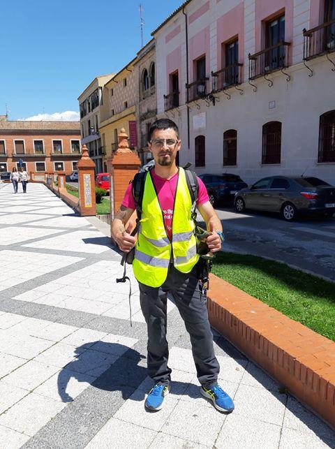 De Talavera a Toledo a pie para dar visibilidad a la esclerosis múltiple