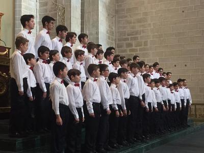 La Escolanía de El Escorial demuestra en Talavera por qué es más que un coro