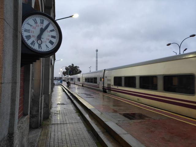 Estación de tren de Talavera | Foto: @garsejuan | La Voz del Tajo