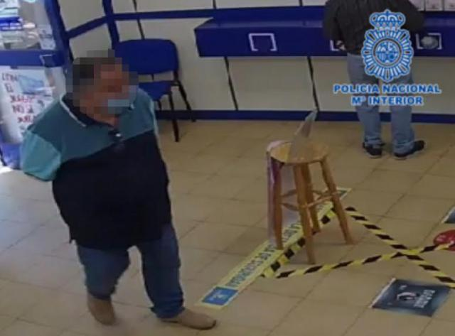 TALAVERA | Detenido cuando planeaba estafar 200.000 euros en Administraciones de Lotería
