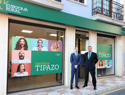 Eurocaja Rural sigue ampliando su red de oficinas en Alicante, esta vez en Castalla