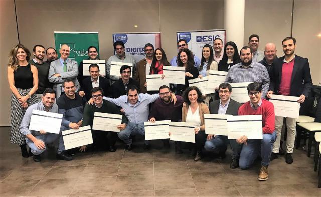 Fundación Eurocaja Rural y ESIC clausuran el Programa Superior de Transformación Digital