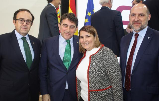"""Alberto Azaña, Miguel Ángel Escalante, """"Tita"""" García y David Gómez"""
