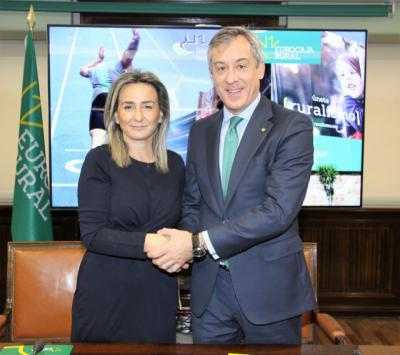 Eurocaja Rural suscribe un convenio de colaboración con el Ayuntamiento de Toledo