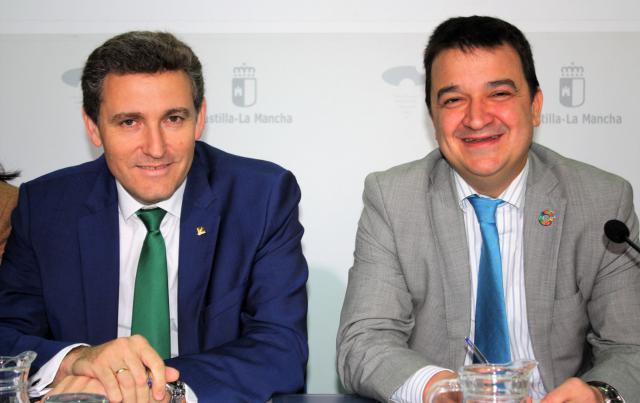 Víctor Manuel Martín López y Francisco Martínez Arroyo.