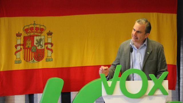 El secretario general de Vox, Javier Ortega Smith. Fuente: Europa Press | Archivo