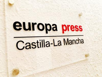 Placa de Europa Press Castilla-La Mancha.