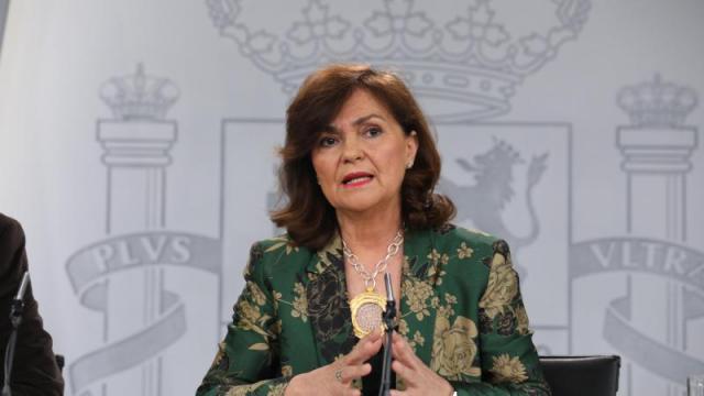 COVID-19 | Carmen Calvo acusa a las comunidades del retraso en el pago de los ERTEs