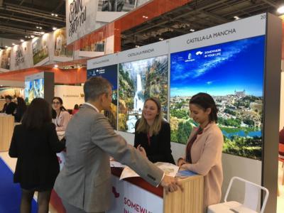 CLM apoya la presencia de empresas turísticas de la región