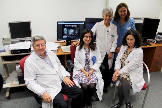 Radiólogos del Hospital de Toledo, premiados en Chicago