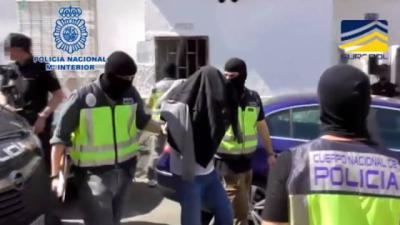 Imagen de archivo de una operación policial contra el terrorismo