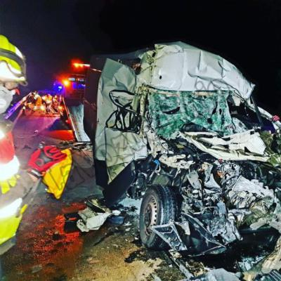 PEPINO | Terroríficas imágenes del accidente en la A-5