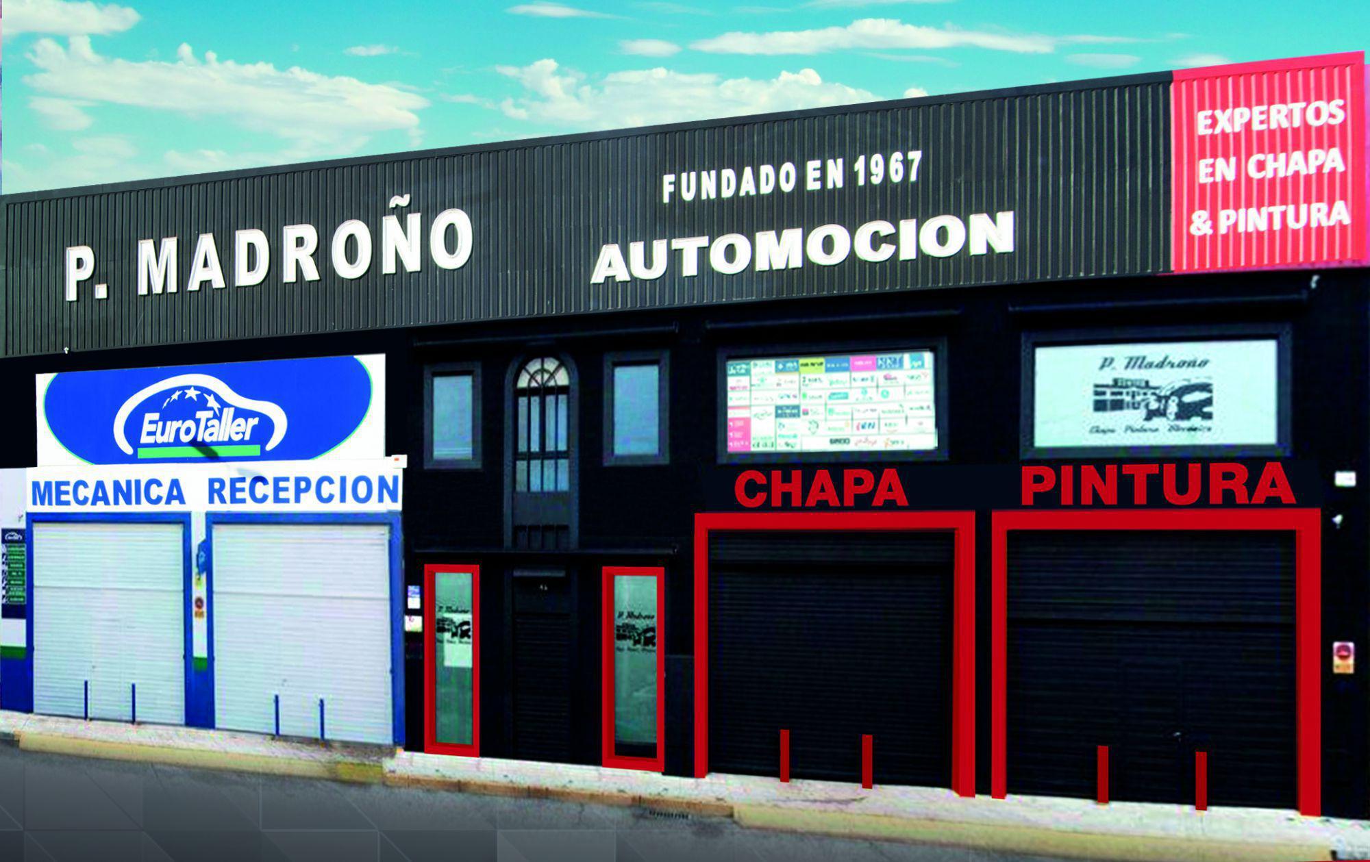 Centro del autom vil pedro madro o 50 a os al servicio - Fachadas de talleres ...