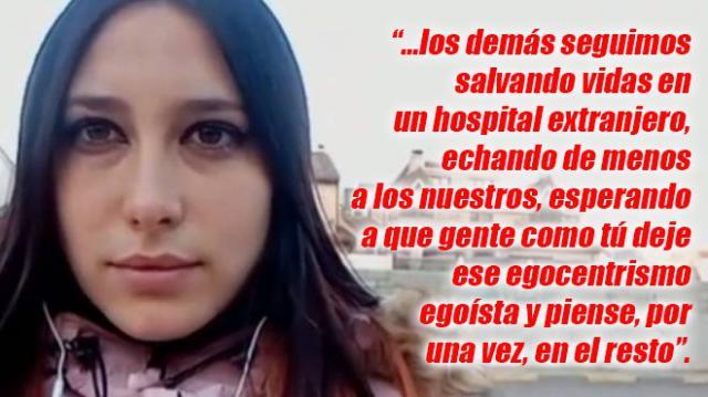 TALAVERA | Carta de una enfermera talaverana a Mónica, la joven que indigna a toda España