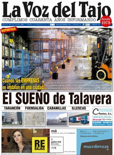 Portada febrero   El sueño de Talavera: tener empresas -y la caída de la muralla-