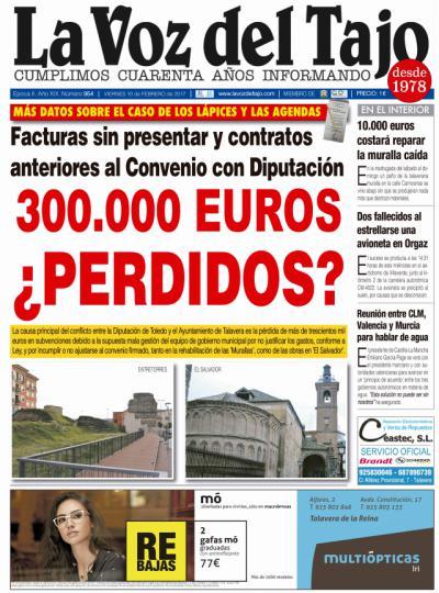Portada febrero   Más datos del caso de los 'lapices y las agendas', ¿300.000 euros perdidos?