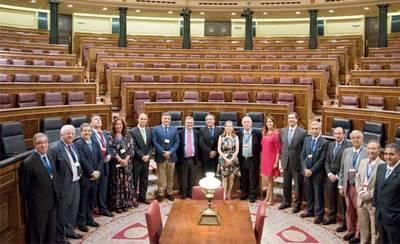 FEDETO se reúne en el Congreso para analizar la situación de Talavera
