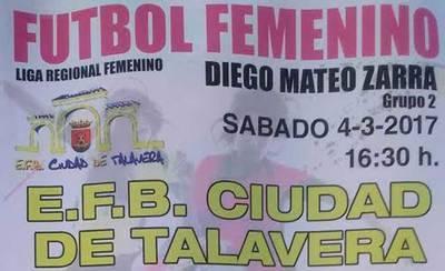 Una jugadora del Ciudad de Talavera es trasladada tras un choque de cabeza