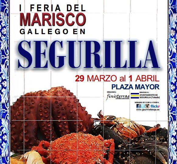 Segurilla acerca el mar a la comarca con la Primera Feria del Marisco Gallego