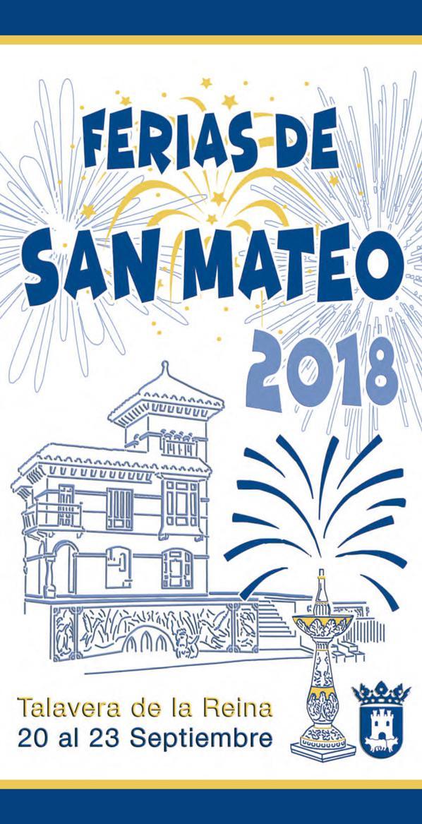Cartel anunciador de las ferias ha sido realizado por Raúl Díaz