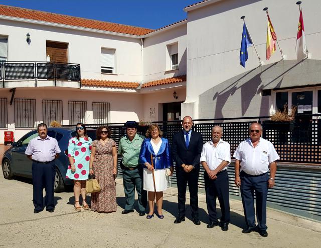 El delegado de la Junta en Talavera acudió al municipio jareño.