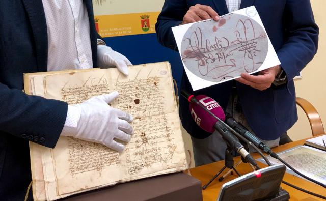 """Aparece 'por primera vez"""" la firma de Fernando de Rojas en el archivo municipal de Talavera"""