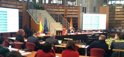 Los profesionales de extinción de incendios forestales de Castilla-La Mancha, referentes internacionales