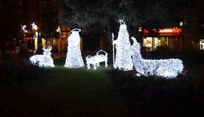 Alumbrado navideño en Talavera | Archivo