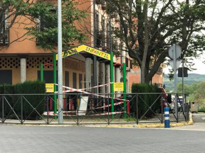 TALAVERA | Sancionados por desprecintar parques infantiles