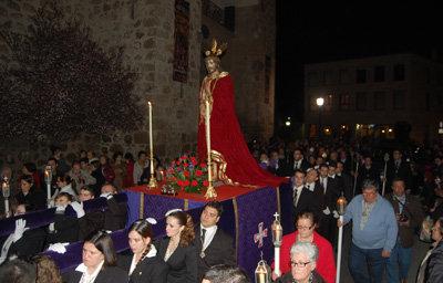 Anuncian cortes de tráfico en Talavera, este Miércoles de Ceniza, por el Vía Crucis