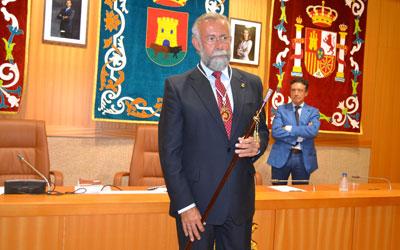 Toma de posesión como alcalde de Talavera en 2014